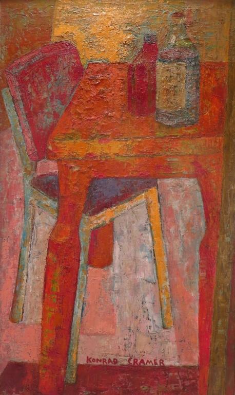Konrad Cramer, Ger-Am.,1888-1963, Still Life, O/M