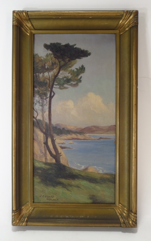 John Edward Walker, Am., Pebble Beach, o/c