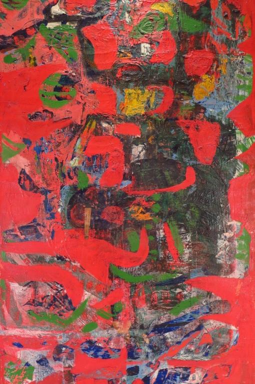 Madeleine Pyk, Swe., b. 1934, Untitled, 1967, O/C