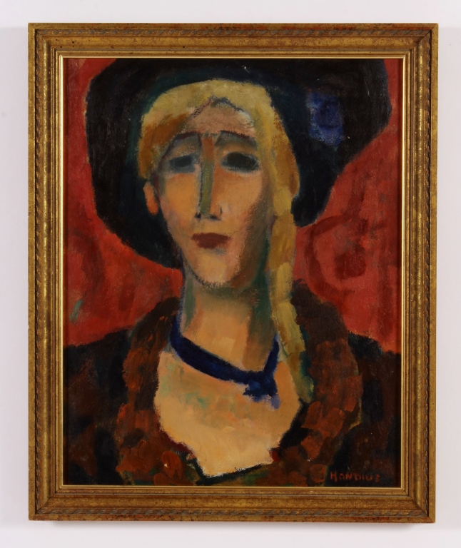 Gerrit Hondius, 1891-1970, Portrait of a Woman