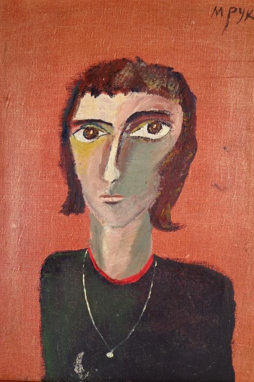Madeleine Pyk, Swe., b. 1934, Woman, O/C