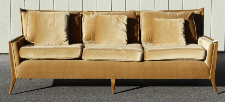 Paul McCobb Walnut Sofa for Directional, c. 1950's