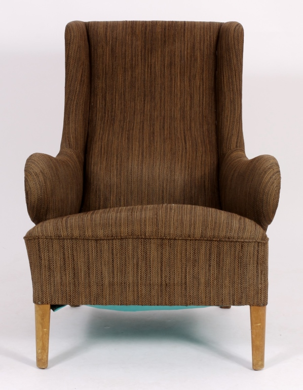 Modernist Wing Chair, c. 1950's