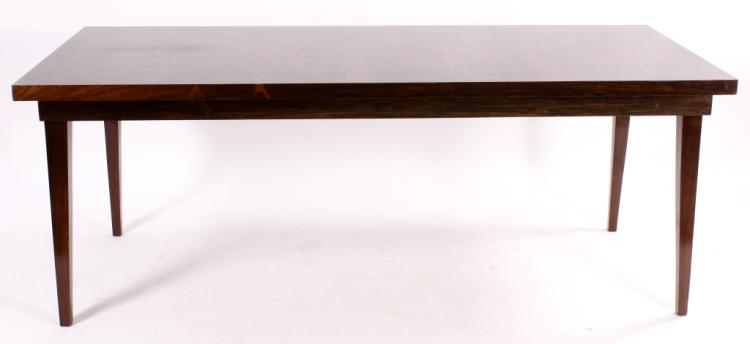 Contemporary Rosewood Dining Table