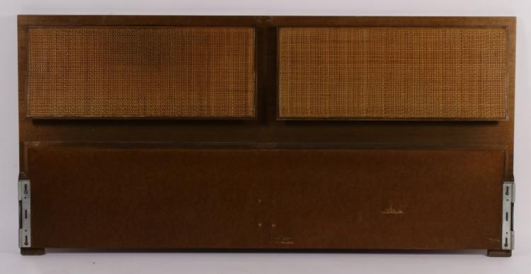 Paul McCobb Calvin Headboard with Cane Fronts