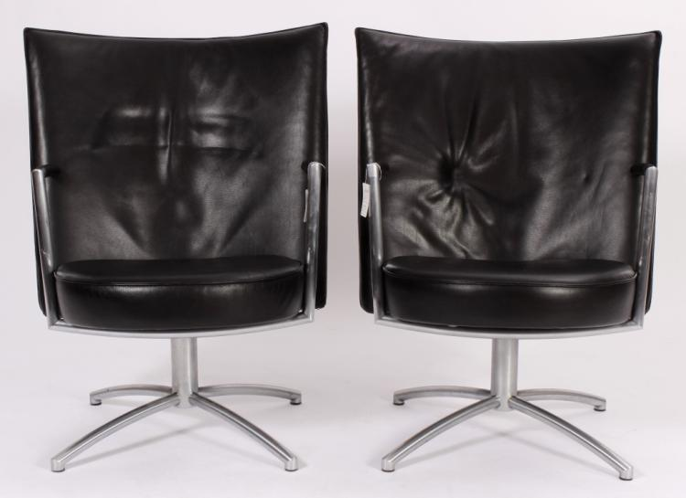 Pr. of Foersom+Hiort-Lorenzen Chairs by Jorgensen