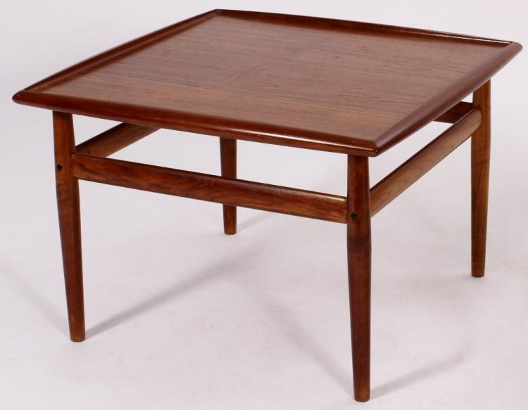 Danish Modern Teak End Table,20th