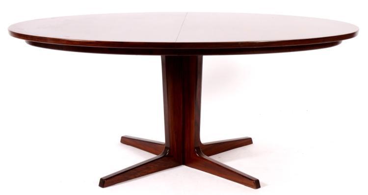 Danish Modern Extension Dining Table, c. 1970