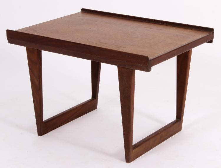 Dansk Fin Edge Teak Side Table/Bench