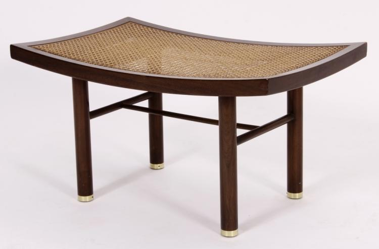 Michael Taylor for Baker Mid Century Modern Bench