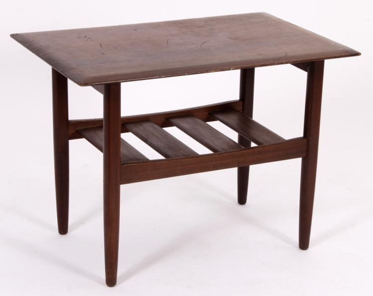 Scandinavian Design End Table From Canada