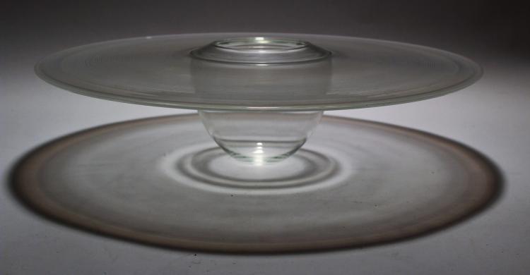 B. Moore, Glass Sculpture,