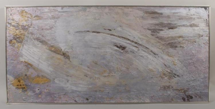 Brian Kazlov, Abstraction, 1976, O/C.