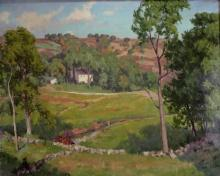 Adrian Lamb, Am.,1901-1988, South Salem, O/C