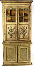 Italian 2 Part Cupboard,18th C,later base