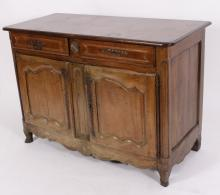 French Provincial 2 Door Commode, c. 1800