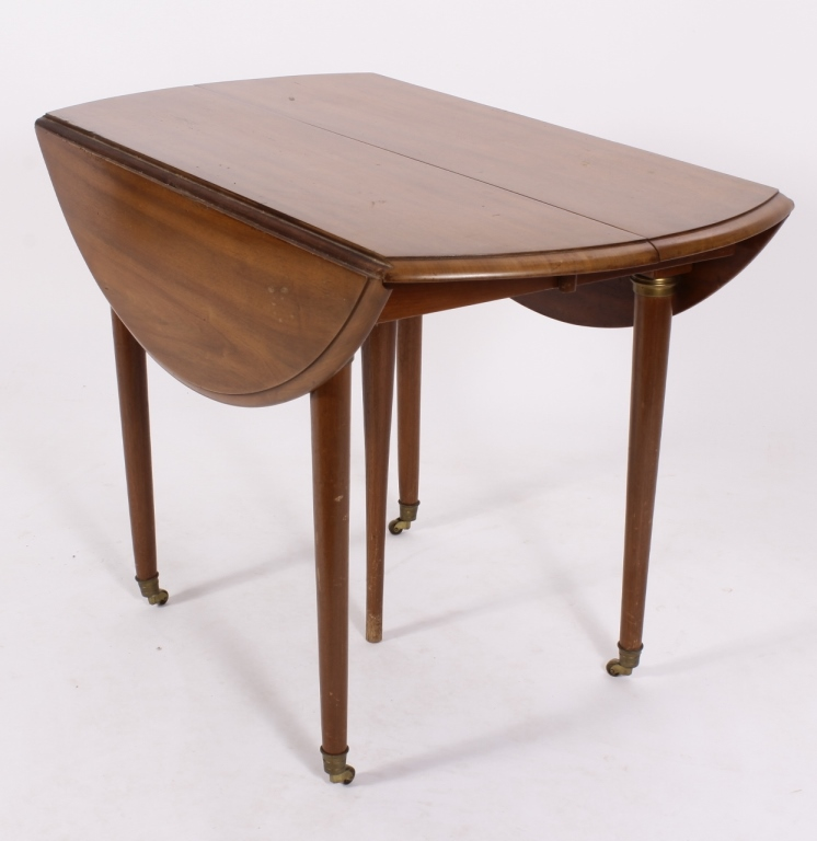 Drop leaf extension table with 2 leaves for Drop leaf extension table