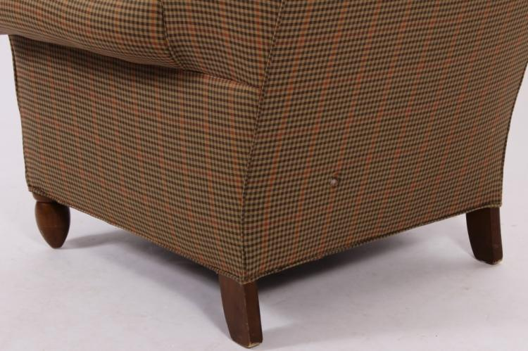 Calico Corners Uph Wing Chair And Otto