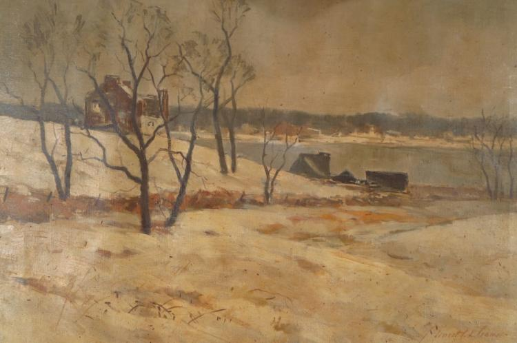 Ernest L. Cramer, House By Cove, O/C