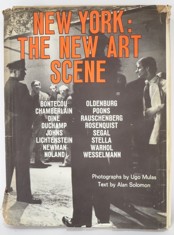 NEW YORK: THE NEW ART SCENE, First Edition, 1967