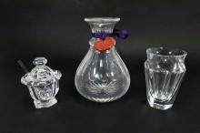 William Yeoward & Baccarat Crystal Pieces