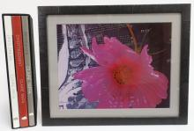 Claire Yaffa, Am., Flower, Photo + Books, Signed