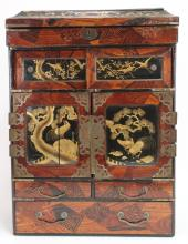 Vintage Chinese Document Chest/Jewel Box