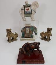 Lot of 5 Asian Animals