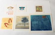 Kunio Kaneko, Jap.,11 Woodblocks/Prints