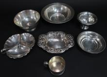 7 Pcs. of Sterling Silver Holloware