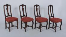 Set of 4 French Provincial Style Dining Chairs