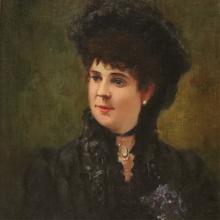 JOHN WILTON CUNNINGHAM - PORTRAIT OF A LADY
