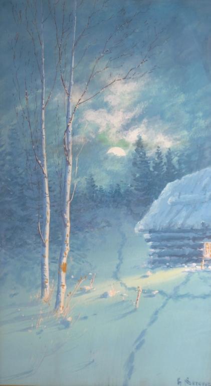 Gulbrand Sethers, Am., 1869-1941, Pair Landscape