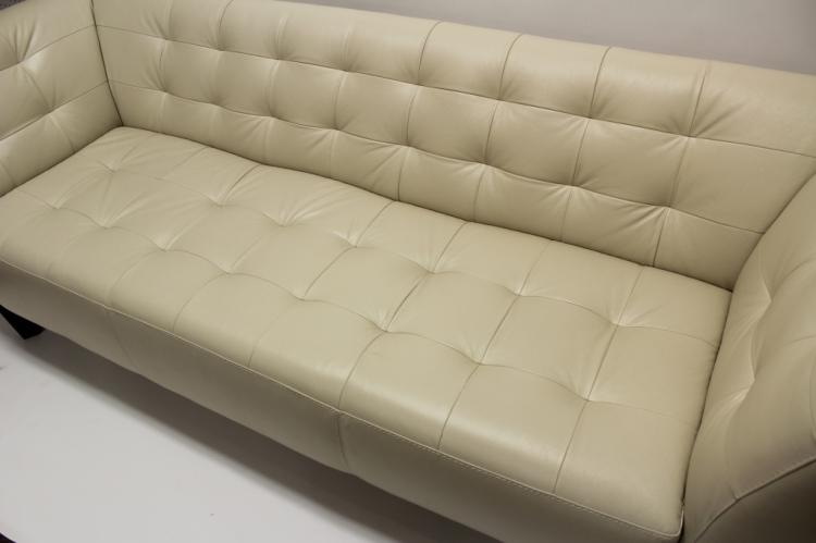 Chateau Dax Furniture Reviews: Chateau D-Ax Contemporary Leather Sofa