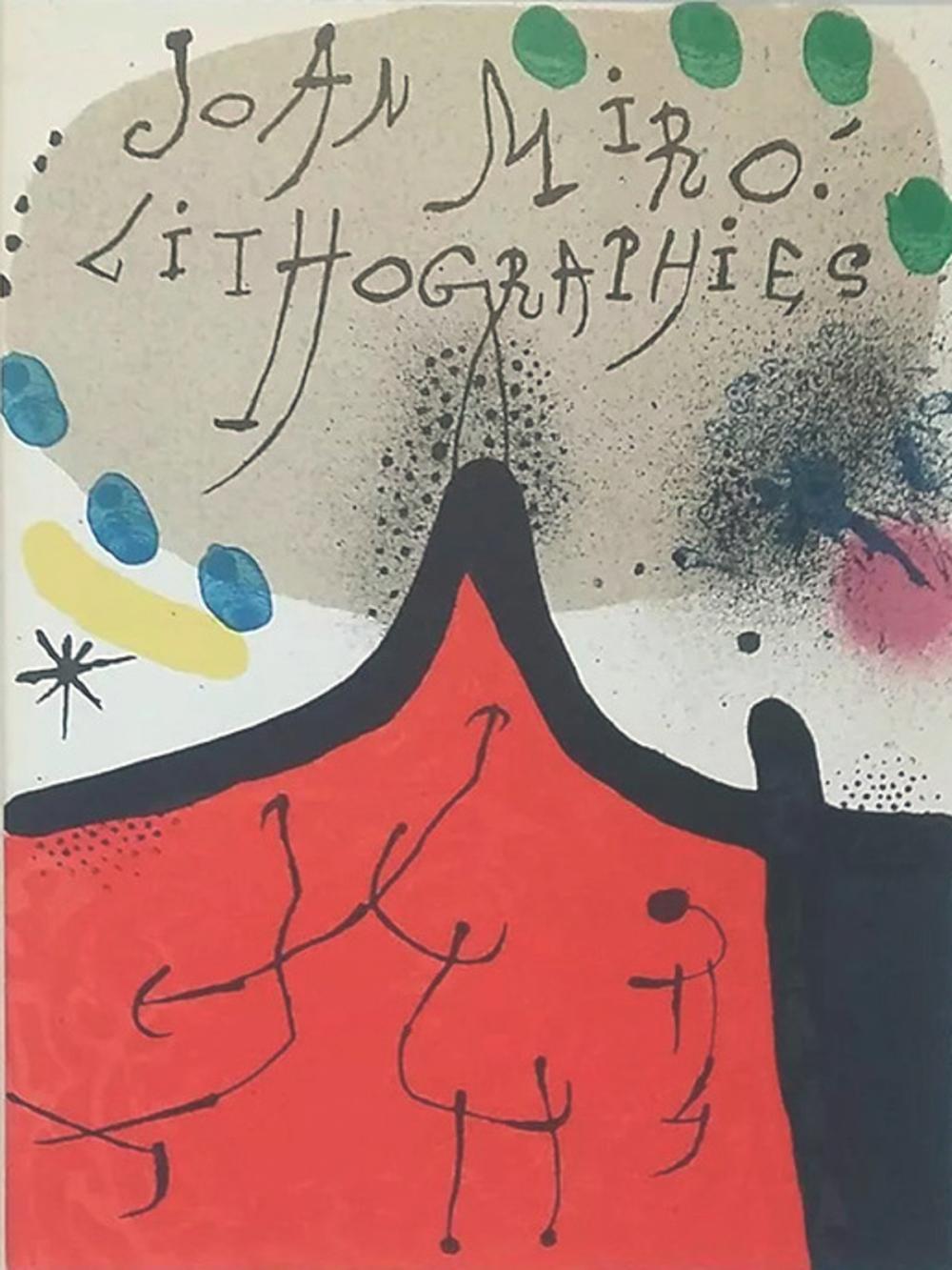 """Joan Miro - """"Cubierta""""."""