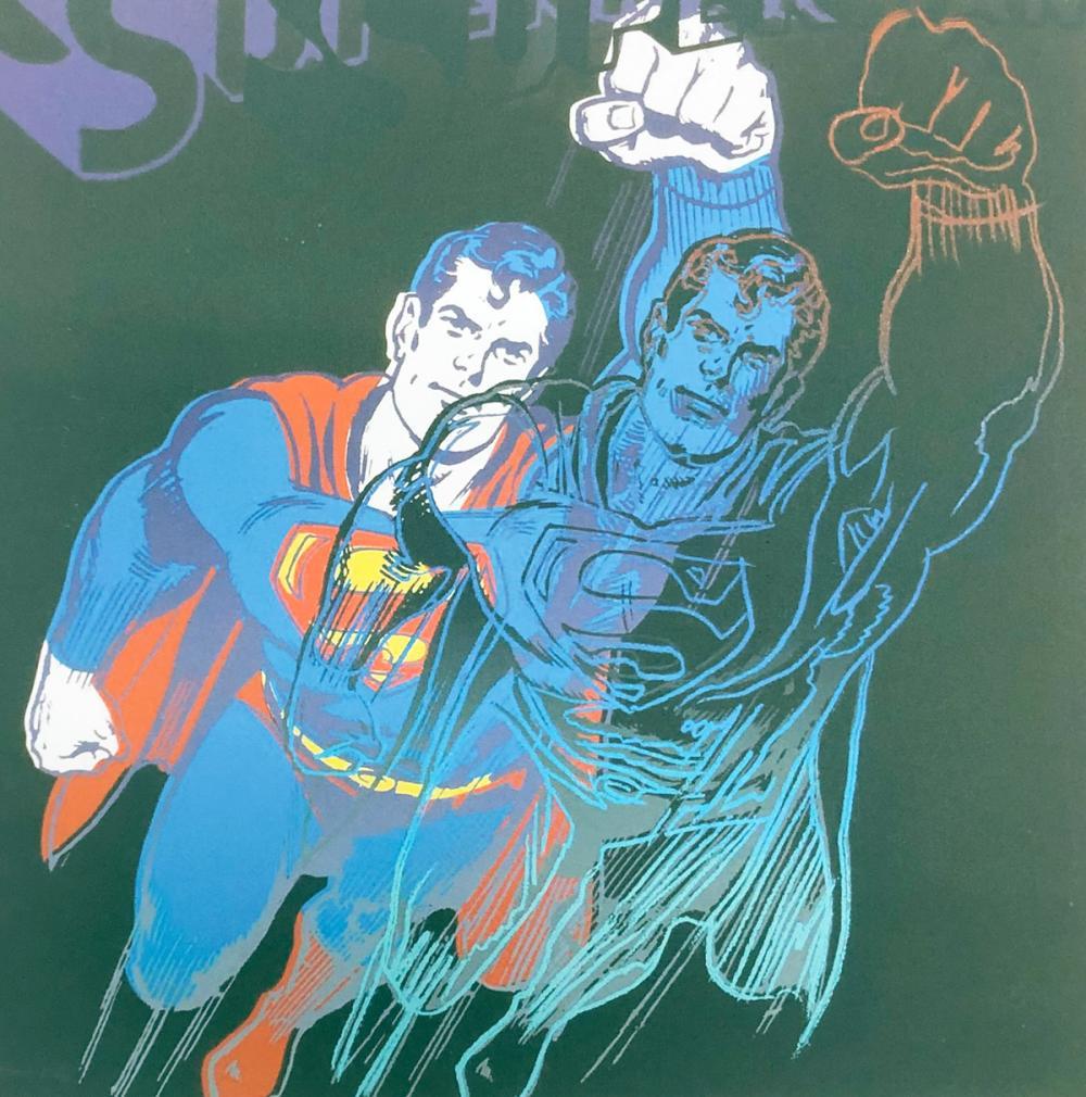 "Andy Warhol – ""Super Man""."