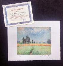 Claude Monet - Campo de trigo.