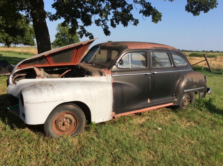 1948 dodge 4 door sedan for 1948 dodge deluxe 4 door