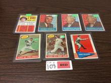 (7) Mixed Baseball Cards - All For One Money