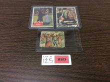 (3) Vintage Trading Cards including Wild West Picture Card Gum
