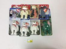 7 Misc. Ty Beanie Baby Bears