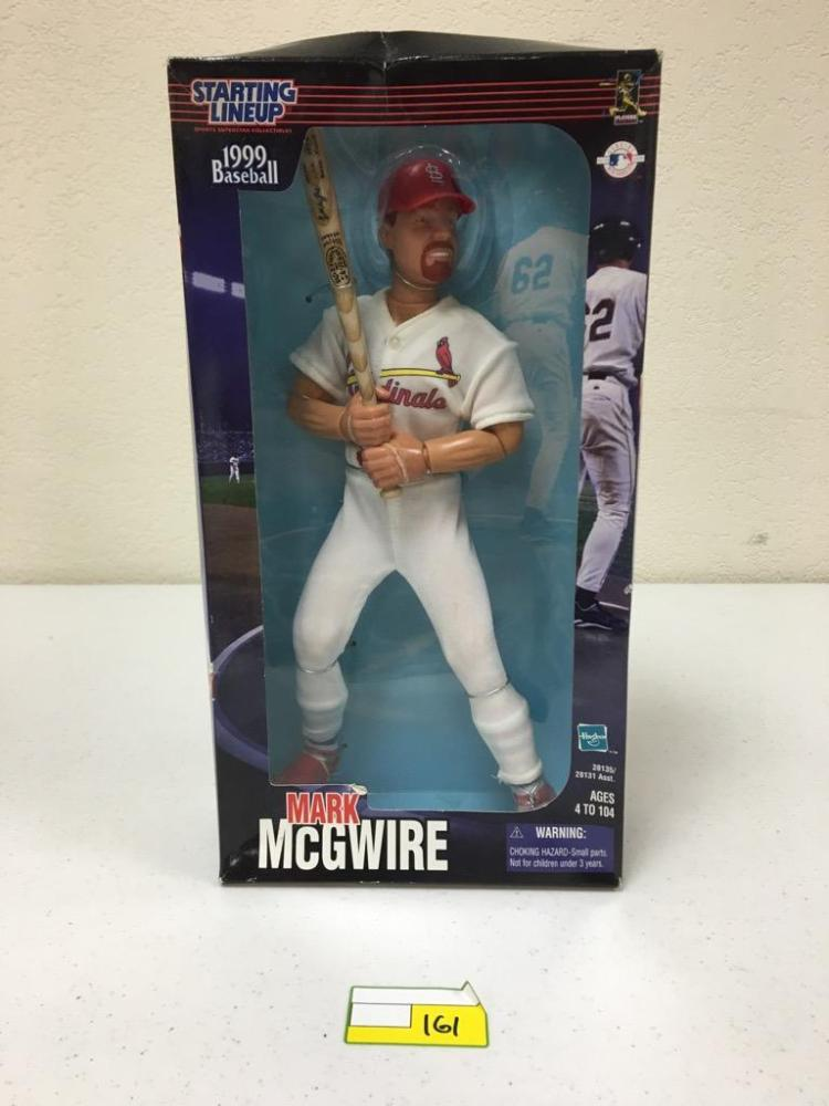 Starting Lineup 1991 Baseball Fully Posable Figure - Mark McGwire