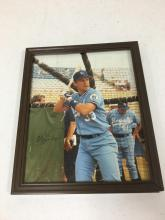 Framed 8x10 Autographed Photograph of Kevin Seitzer