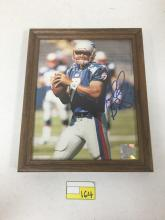 Framed 8x10 Autographed Photograph of Michael Bishop