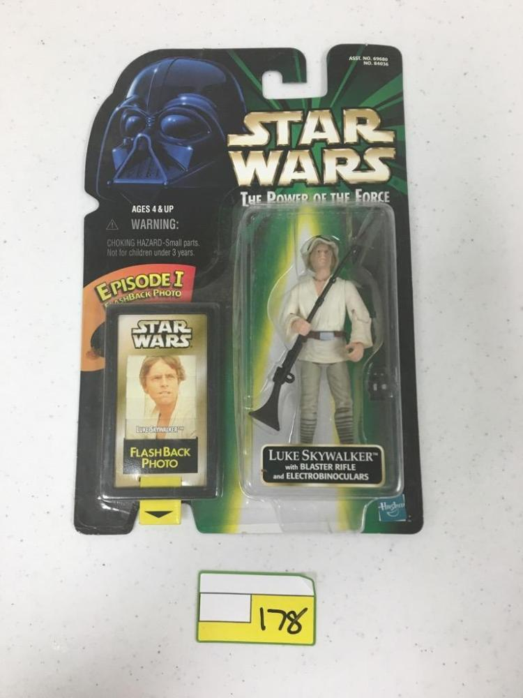 1999 Hasbro Star Wars Action Figure - Luke Skywalker w/ Blaster Rifle and Electrobinoculars