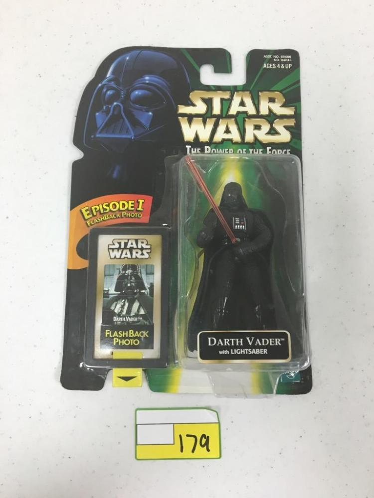 1999 Hasbro Star Wars Action Figure - Darth Vader w/ Lightsaber