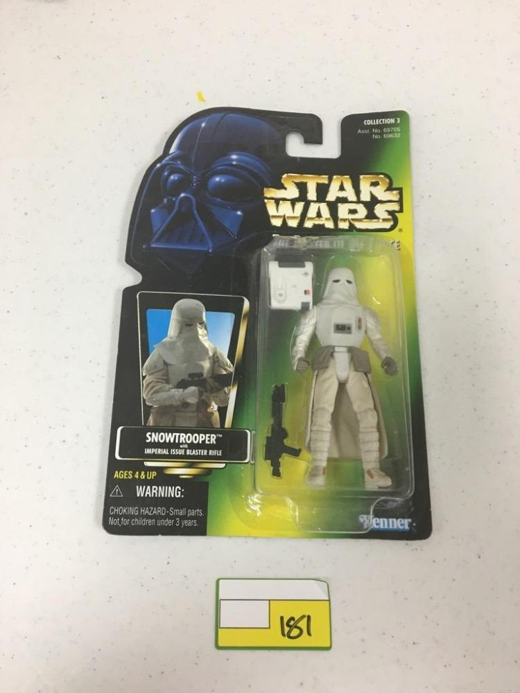 1997 Hasbro Star Wars Action Figure - Snowtrooper w/ Imperial Issue Blaster Rifle