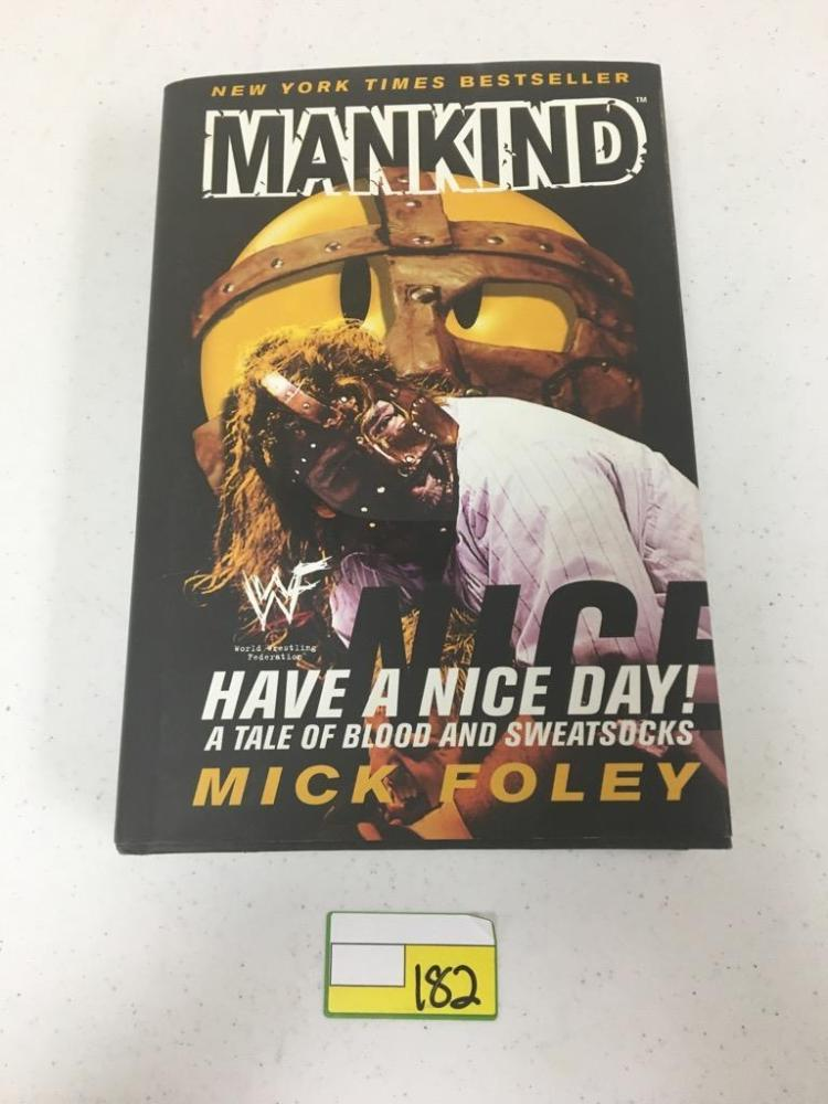 New York Times Best Seller, Mankind - A Tale of Blood and Sweatsocks by Mick Foley
