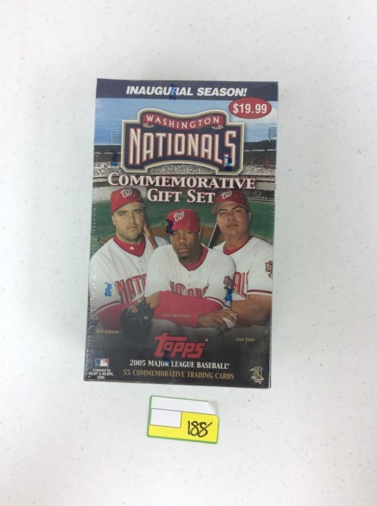2005 Topps Washington Nationals Commemorative Gift Set - 55 Cards