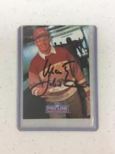 1991 Autographed NFL Trading Card - Marty Schottenheimer